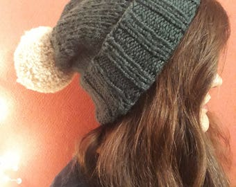 Knitted cap L knitted hat