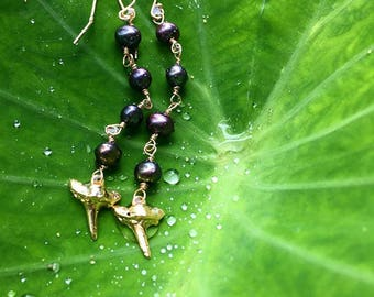 Black Pearl and Sharks Tooth