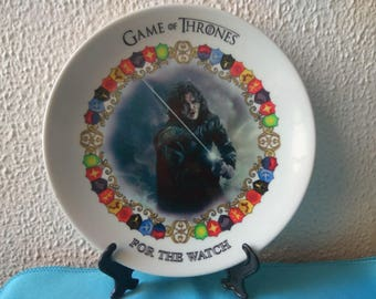 Game of Thrones! Jon Snow! For the Watch!