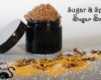 Natural Whipped Sugar Face Scrub