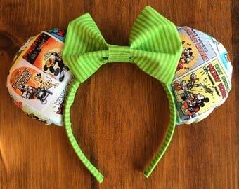 Retro Mickey Comic Ears