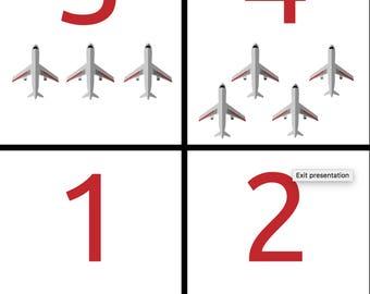 Plane Flashcard Bundle