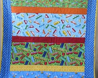 Transportation quilt | Etsy : transportation quilt - Adamdwight.com