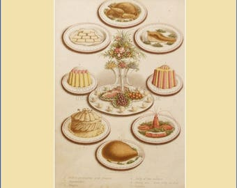 Cassell's Household Guide, savoury meat and pudding dishes