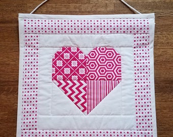 Quilted Heart Wallhanging