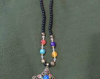 Handmade beaded jewellery set
