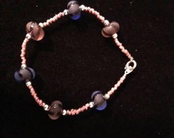 Simple Glass Beaded Bracelet