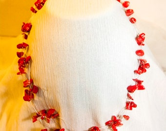 CoralFloater Necklace