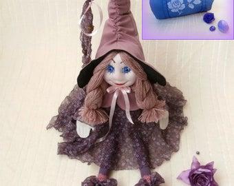 Handmade walldorf Doll - Princess Rose Ashes with transport bag.