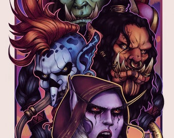 "World of Warcraft ""Horde"" Print"