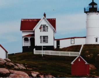 Photo: Lighthouse Nubble Maine