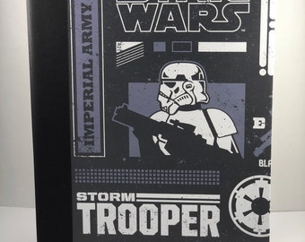 Star Wars Storm Trooper Composition Book