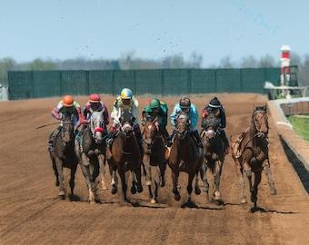 Keeneland: Kentucky Horse Racing Photograph