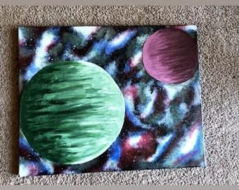 Nebula, Planet, Galaxy Painting