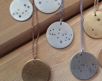 Constellation Necklace // Silver