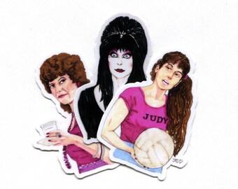 Scream Queens Single Use Vinyl Sticker Pack Set 1
