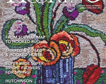 Rug Hooking Magazine - March-April-May 2017