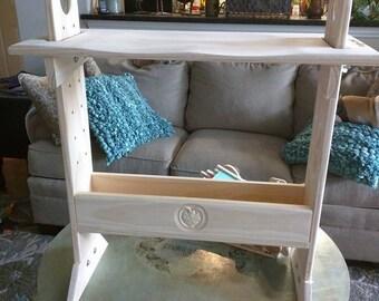 Adjustable Pine Weaving Bench Kit