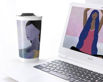 Sadness - Travel mug for hot or cold beverages