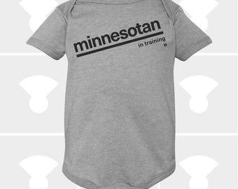 Minnesotan In Training - Baby Onesie
