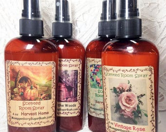 Room spray - Save money on a two bottle bundle - assorted scents