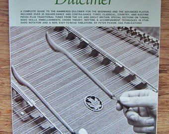 HAMMERED DULCIMER Peter Pickow 1970s Music Instruction Book