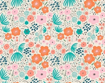 ON SALE Ava Rose By Deena Rutter Floral Cream