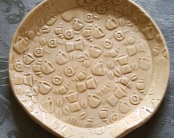 Handmade Ceramic Spoon Rest