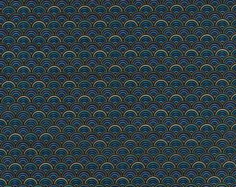 Color Scallop Enchanted Chong-A Hwang Timeless Treasures Fabric
