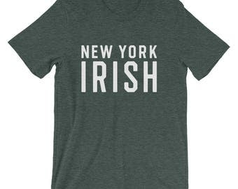New York Irish Tshirt, New York St Patricks Day Tshirt, Green St Patricks Shirt, Irish Shirt, Irish Pride Tshirt, New York Tshirt