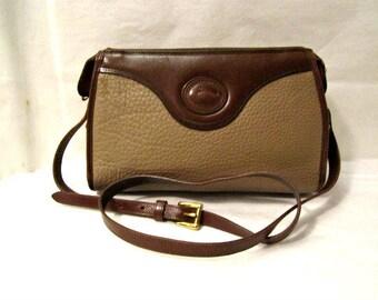Leather bag, Dooney & Bourke Leather Cross Body / Shoulder Bag