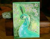 Green Series - Peacock Magic - Original Art