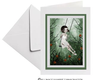 Thorny Roses Greeting Card - Rose Thorns Greeting Card - Rose
