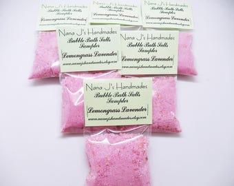 Lemongrass Lavender Bubble Bath Salts, Bubble Bath, Bubble Bar,Bath Salts,Bubbling Salts,Fairy Dust,Bubbling Bath Salts, Bubble Bath Sampler