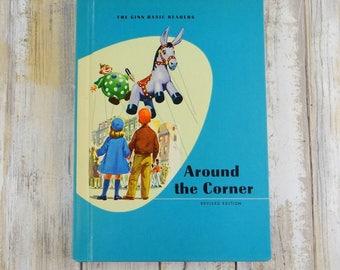 Around the Corner Hardcover Children's Book from 1961
