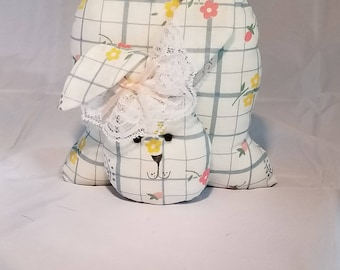 Tail on Top Bunny - Floral