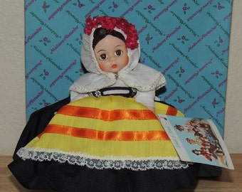 Madame Alexander GREECE Original Box 8 inch doll