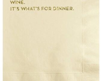 dinner napkins. #581