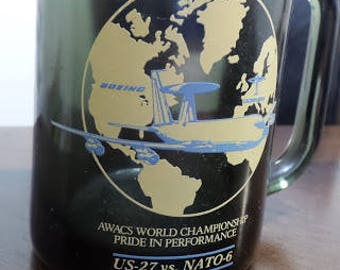 AWACS Championship Celebration Glass Mug