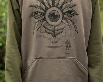Eye See Males Hoodie