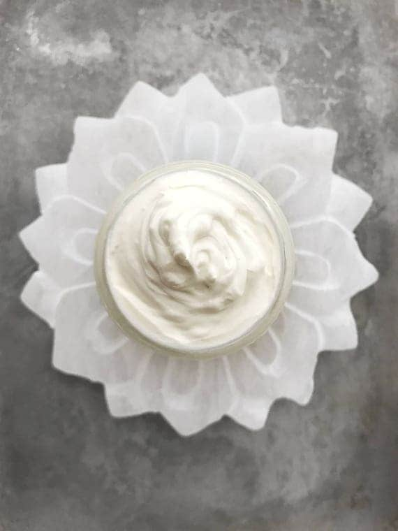 Organic Whipped Shea And Coconut Lotion // All Natural // Organic // Vegan