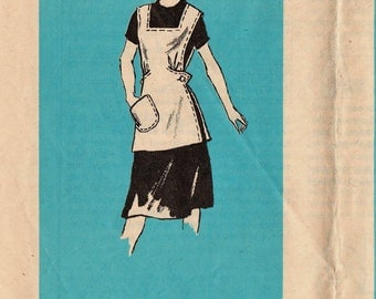 Vintage Mail Order Sewing Pattern / Anne Adams 4835 / Apron Pinafore / Size Small