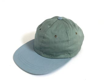 vintage DEADSTOCK 90s y2k DAD HAT cotton two tone adjustable back Seinfeld era vintage baseball cap