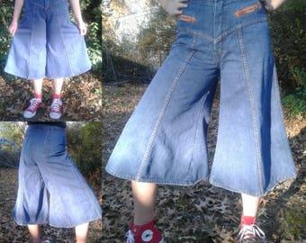 Organically Grown Vintage Jeans Gauchos Vtg 9