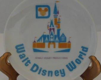 Miniature Walt Disney Plates set of 6