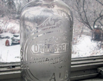 Antique French Lemonade Bottle