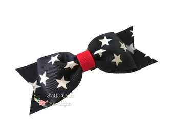 4th of July Hair Bows/Baby Girl Hair Bows/July 4th Baby Bow/Hair Accessories/Girls Bows/Toddler Bow Hair Clip/Baby Hair Bow/Girls Hair Bows