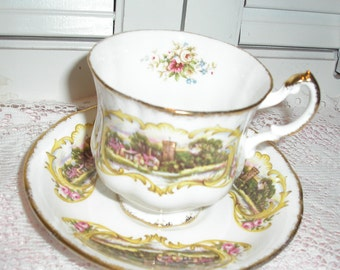 Paragon Chippendale Fine Bone China England Cup Saucer  by Appointment  by her Majesty The Queen Cup Saucer