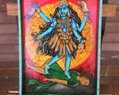 Kali Kills Demons Drinkin...