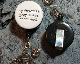 Badge reel - My favorite people are fictional